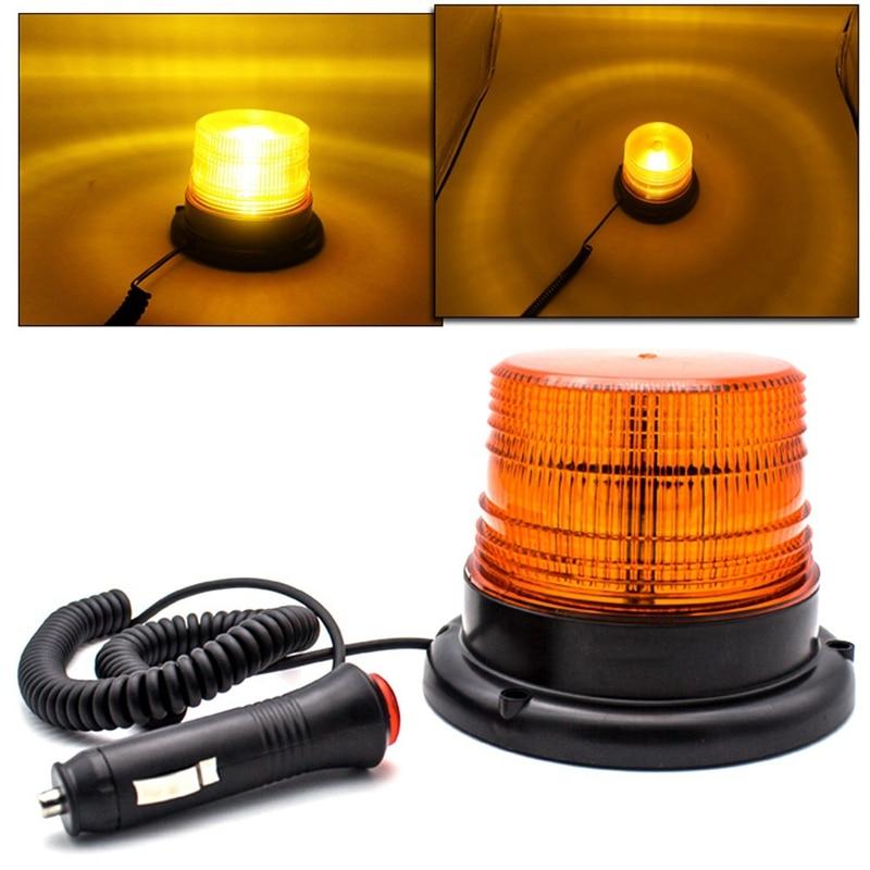 Новый 12-80 в автомобильный Грузовик предупреждающий сигнал стробоскоп 12 LED мигающие аварийные огни маячок лампа для транспортного средства ...