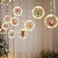 led string light room decoration christmas hanging lights pendant holiday lamp merry christmas led lamps for home noel natal