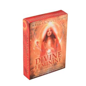 Дека Таро С 53 картами и руководство по воплощению любви «женский Оракул»