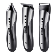 3 in 1 Kamei Hair Clipper Kemel Trimmer for Nose Breard Kmei Cliper Kemei Cutter Razor Haircut Beard Man Cutting Shaving Machine