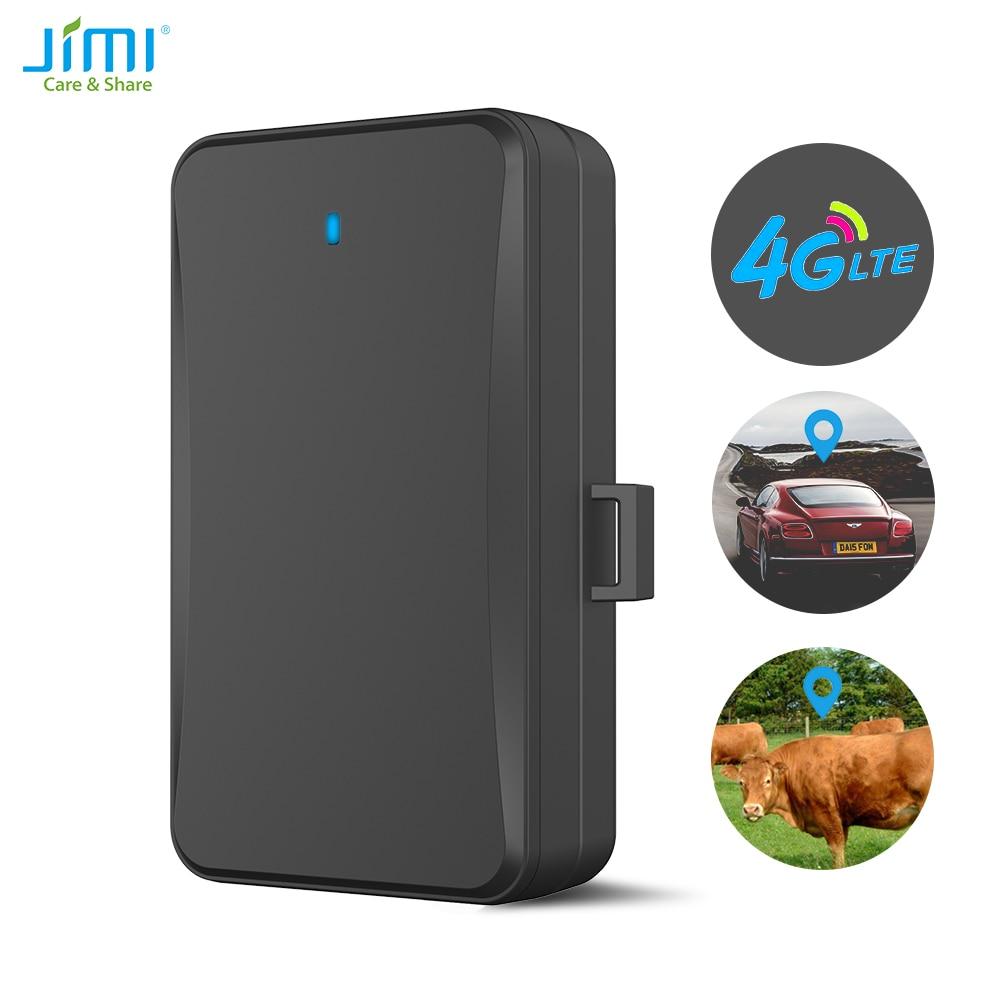 JIMI 4G Assets GPS Tracker Anti-Diebstahl Wasserdicht IP65 GPS Locator mit 10000mAh Echt-zeit Position APP Für Tiere Auto Tracking