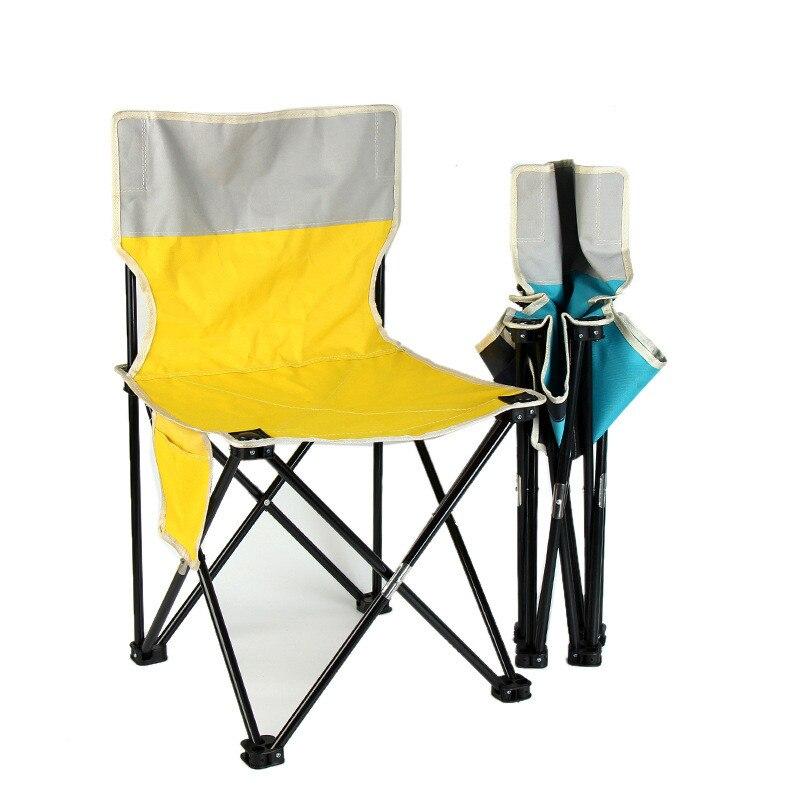Удобный светильник складной стул, пляжный стул, складной стул для рыбалки, кемпинга, сада, складной стул со спинкой стул митек складной средний со спинкой