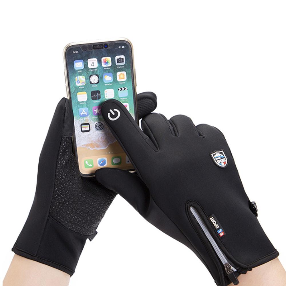 Распродажа, водонепроницаемые зимние теплые перчатки, мужские лыжные перчатки, перчатки для сноуборда, мотоциклетные Зимние перчатки для е...