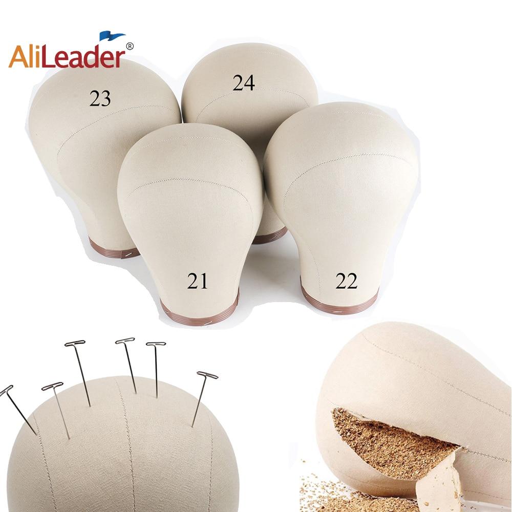 Alileader Factory Selling Wig Canvas Block Head 21