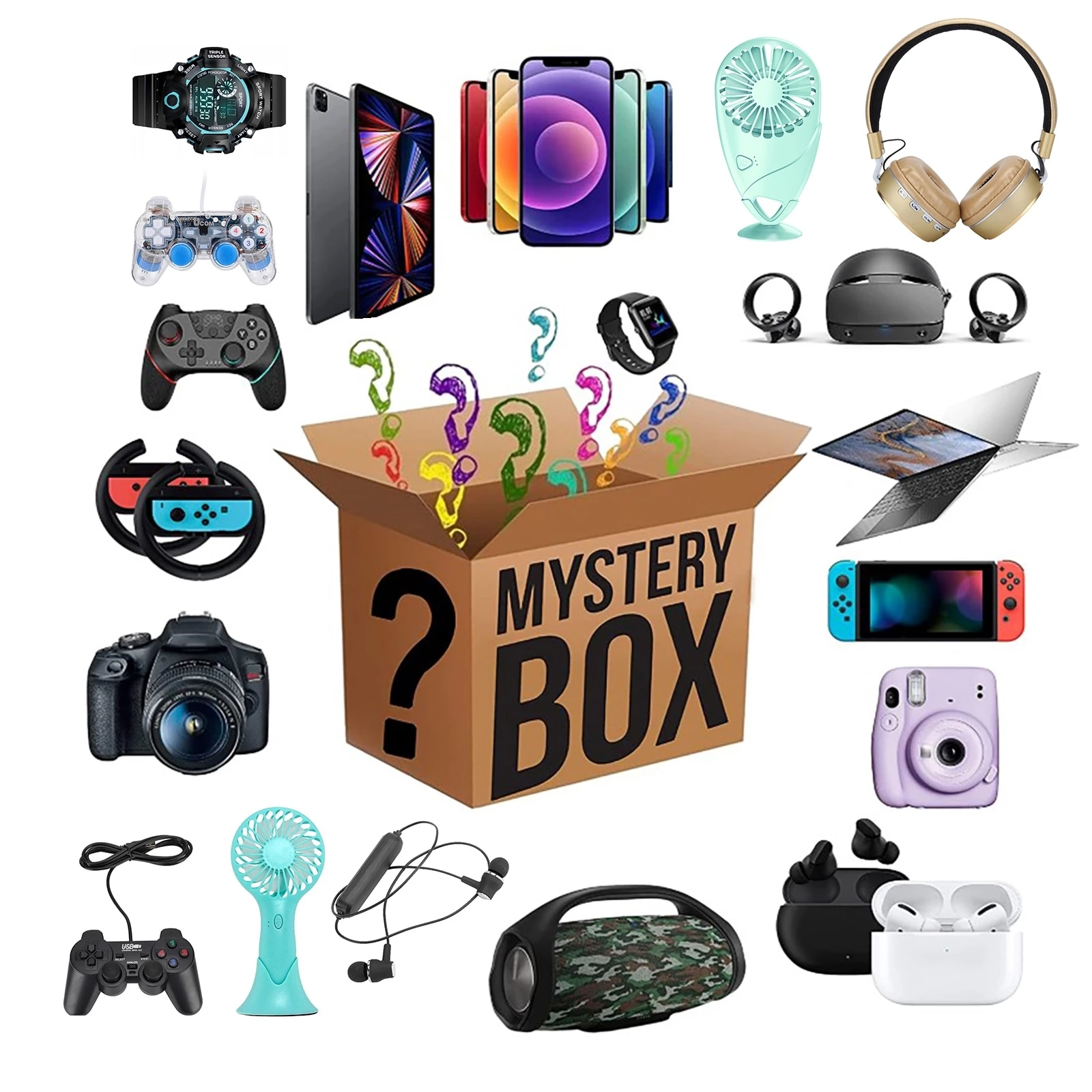 Most Popular New Lucky Mystery Box 100% Surprise High-quality Gift More Random Home Item Electronic