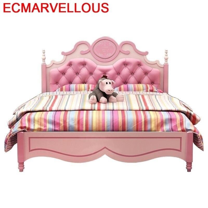 Litera De Madera Mobilya Infantiles Yatak Bois Hochbett Wood Bedroom Furniture Muebles Lit Enfant Cama Infantil Kids Bed