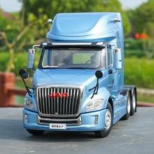 JAC GALLOP V7, modèle en alliage à collectionner, échelle 124, camion-remorque américain long, véhicules, jouet classique moulé