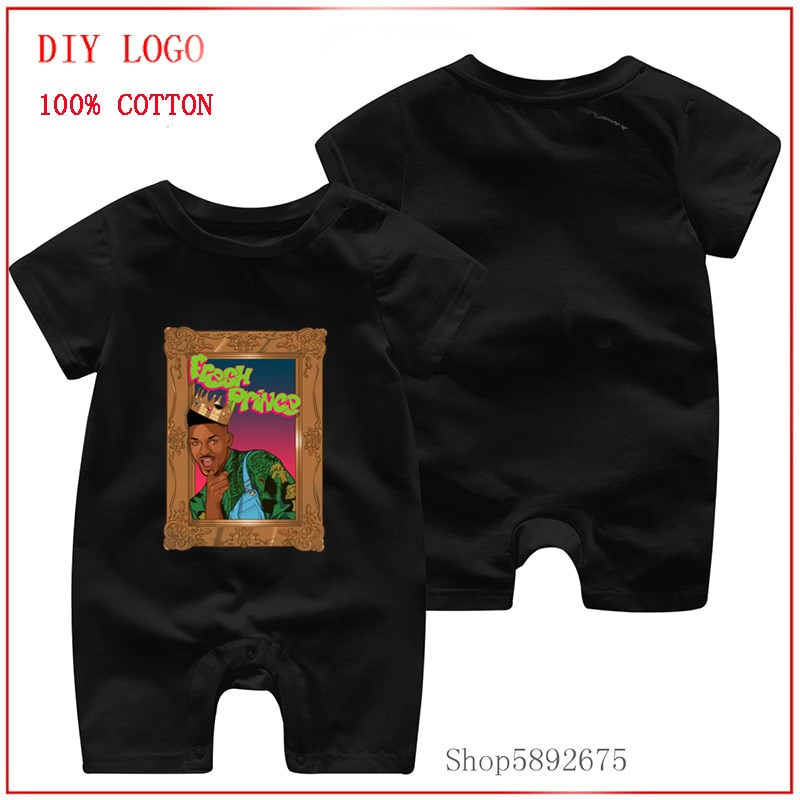 2020 Summer funny New Style Short Sleeved 100% Pure Cotton Baby Romper Summer Short Sleeved The Fres