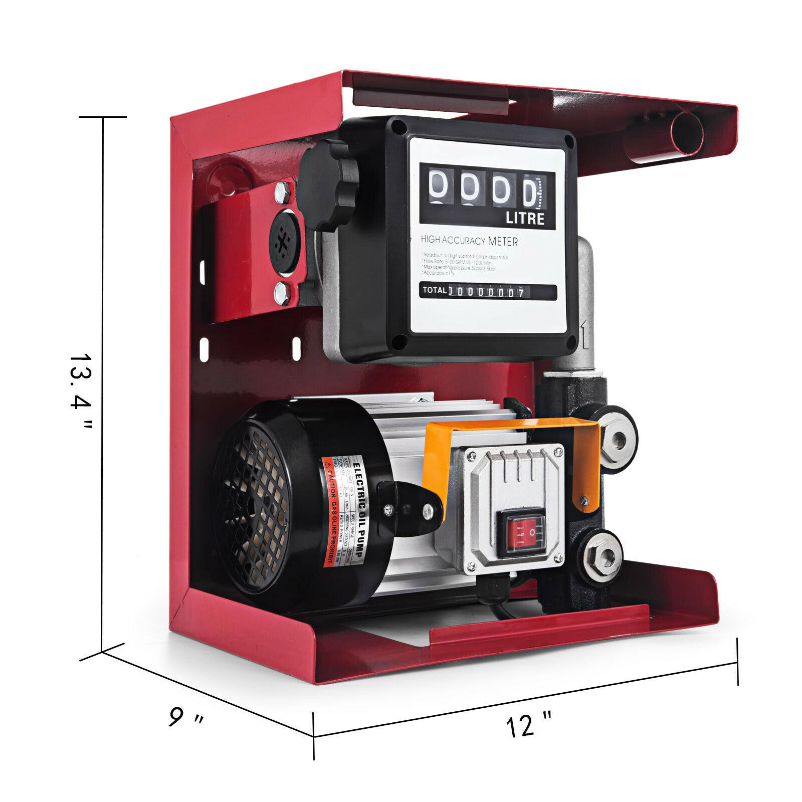 230V 550W Fuel Pump With Fuel Meter Induction Engine Diesel 2800R / M