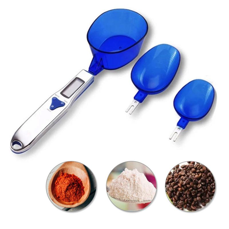 Kitchen Gadgets Cooking Pastry Home Electronic Weighing Measuring Scale Lcd Digital Measuring Spoon Baking Accessories Cocina