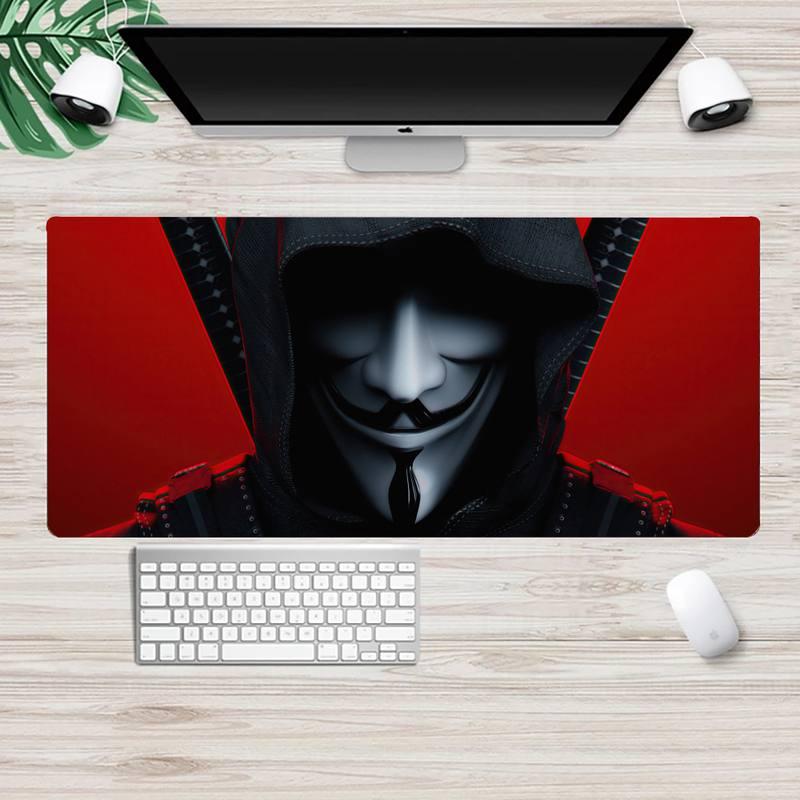 V For Vendetta» игровой плеер стол ноутбука резиновые Мышь коврики XL Большой геймер клавиатура PC стол коврик Takuo планшетный компьютер Мышь коврик