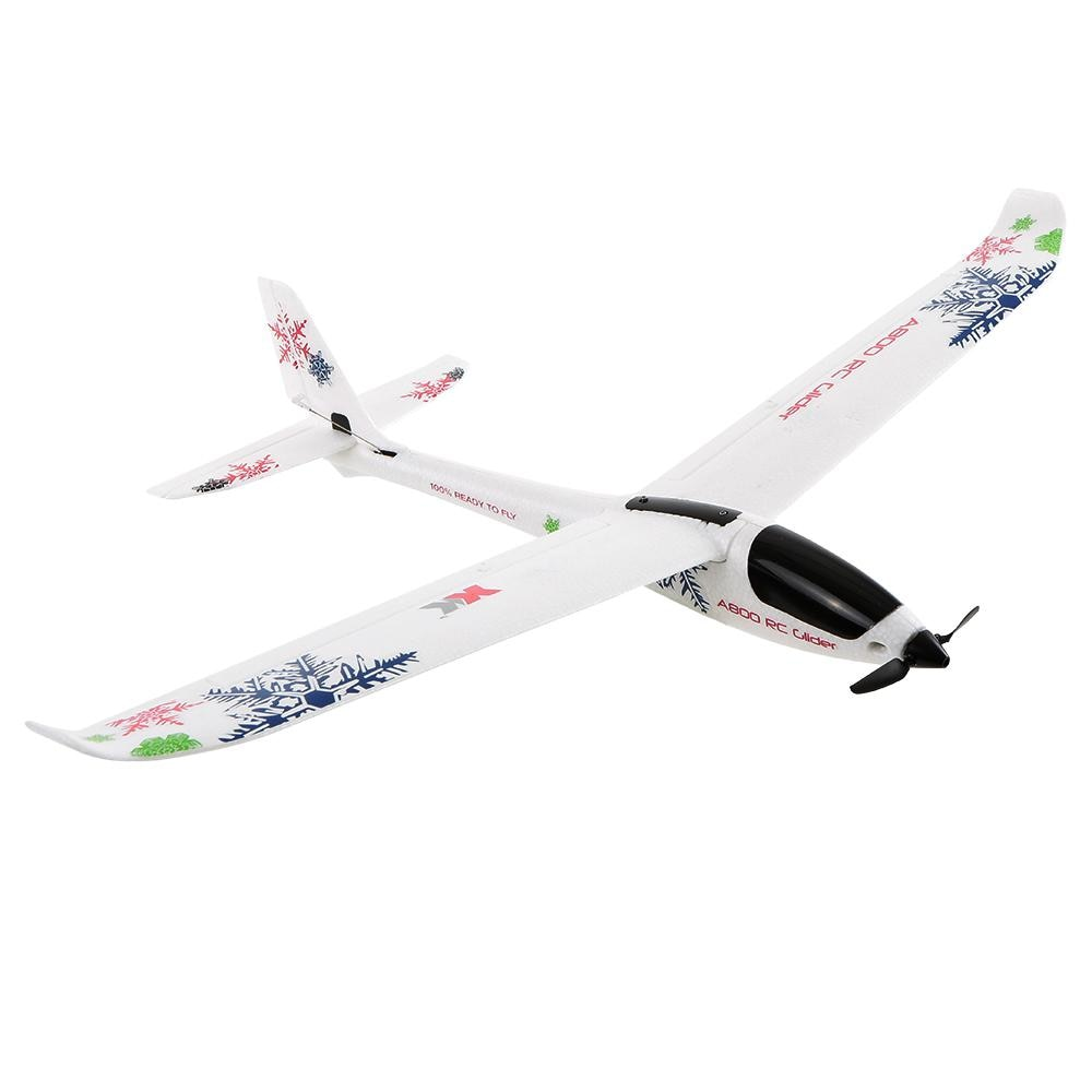 New WLtoys XK A800 5-channel RC Plane Forward-pull Fixed-wing Remote Control Aircraft Glider 3D6G Switch Kid Toys enlarge