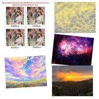 Peinture de paysage en diamant 5D  nouveau produit  bricolage complet  nuage arc-en-ciel  decoration de la maison  Kit de points de croix  personnalisable
