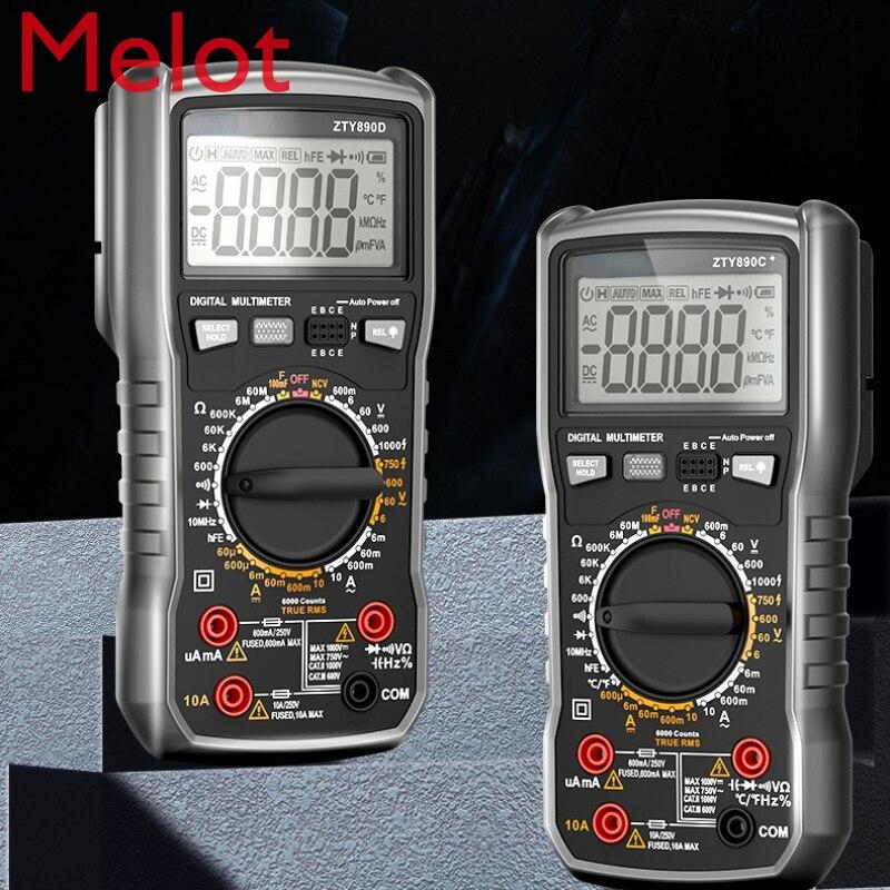 متعدد الرقمية عالية الدقة التلقائي المتعدد ذكي مكافحة حرق صيانة كهربائي شاشة ديجيتال لتقوم بها بنفسك