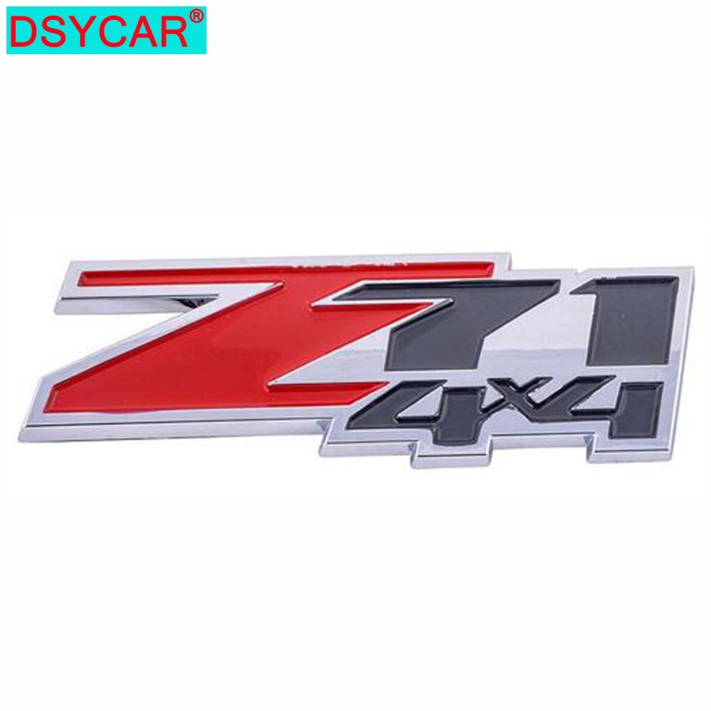 DSYCAR  3D ABS Z71 4X4 Car Sticker Emblem Badge For Jeep BMW Ford Lifan Nissan Mazda Audi VW Honda car Lada Kia Chevrolet DS