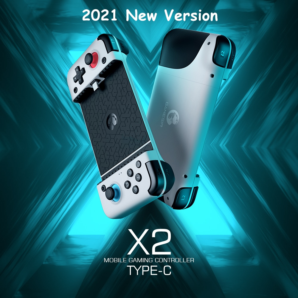 GameSir X2 Type-C Mobile Gamepad Game Controller for Xbox Game Pass, PlayStation Now, STADIA, GeForce Now 【2021 New Version】