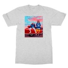 J Cole  Kendrick Lamar Great Rappers Rap Music Mens T-shirt