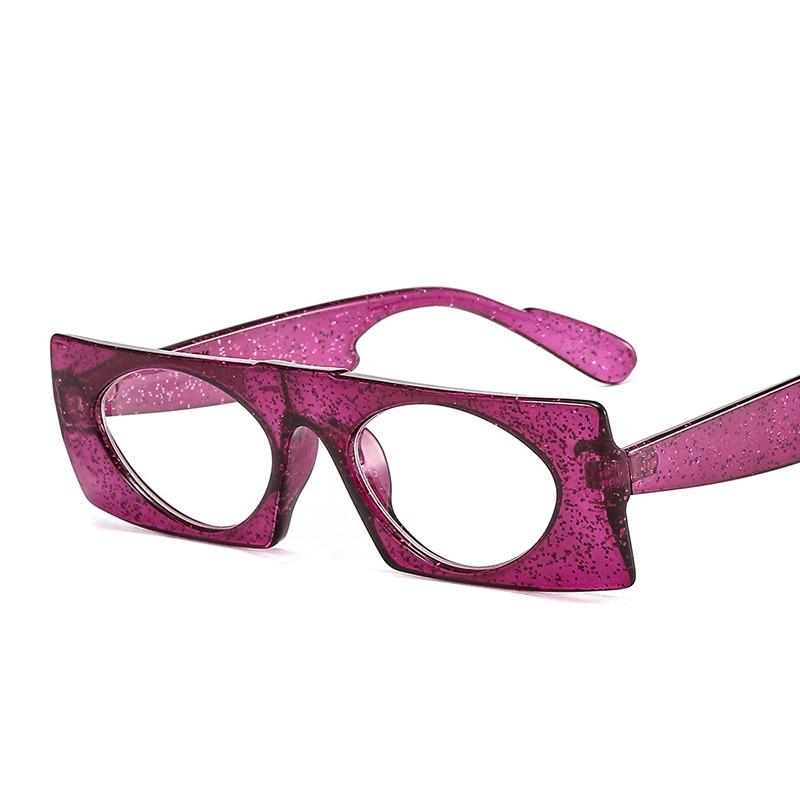 Vintage Square Sunglasses Women Retro Rectangle Frame Sun Glasses Black Red Flat Mirror Female Male