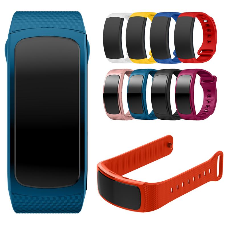 Silicone Watch band For Samsung Gear Fit 2 SM-R360 women fitness Watch bands Wrist Strap For Samsung