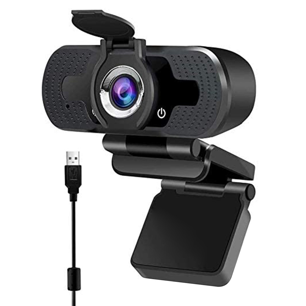 1080P Full HD Webcam with Built-in Microphone USB Driver Free Auto Focus PC  Computer Web Camera for Video Conference