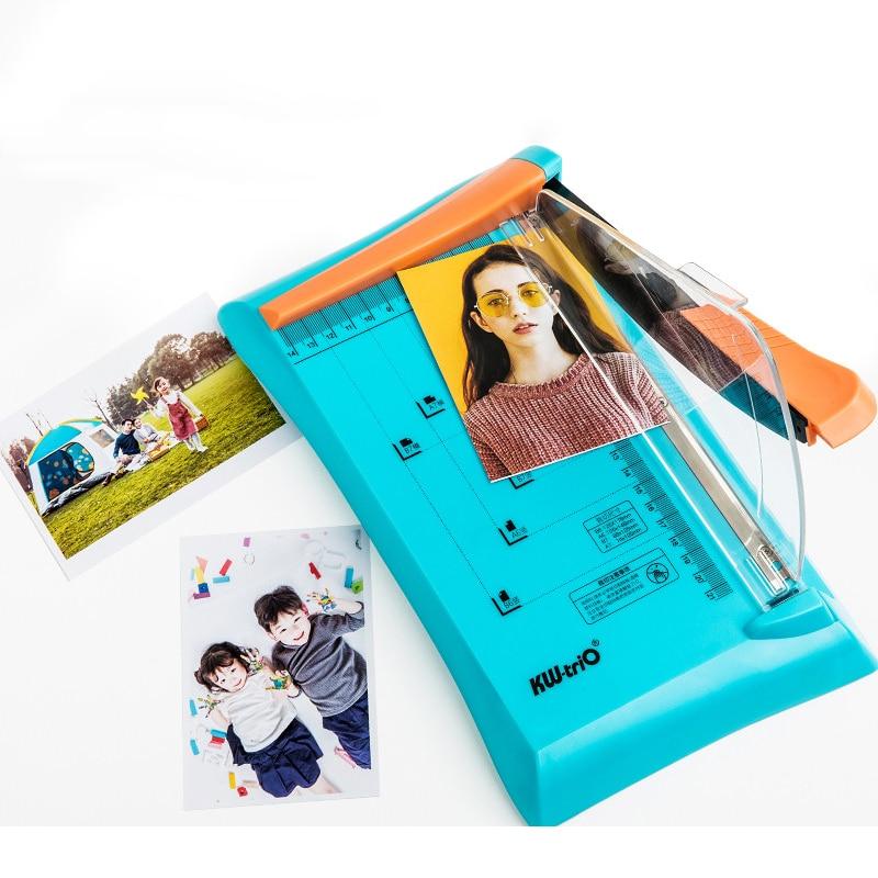 Резак для бумаги, режущий фотографический предохранительный перегородка, маленький резак для бумаги, портативный ручной режущий светильни...