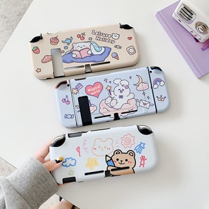 Cute Magical World Cartoon Animals Shockproof Switch Game Protective Case For Nintendo Switch And Lite Cover