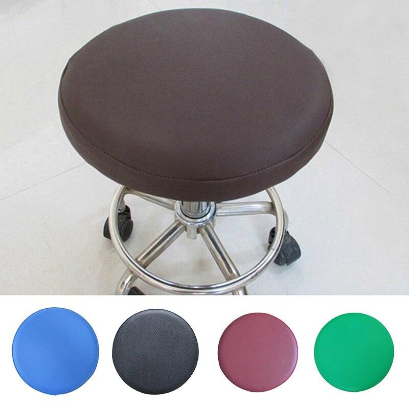 Assento do dentista slipcover cadeira de jantar protetor sete cores capa de cadeira de couro do falso