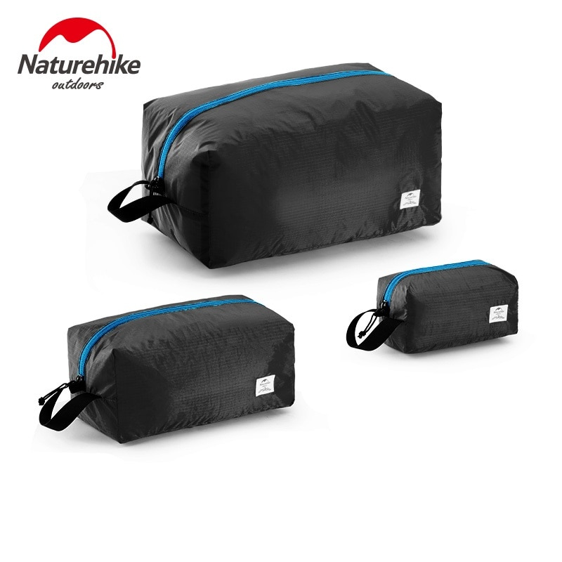 NatureHike 3 en 1 bolsa de almacenamiento 3 uds S-M-L multifuncional viaje impermeable bolsa de embalaje ultraligero bolsa de viaje portátil