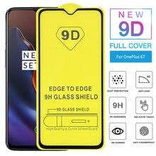 9D Защитное стекло для Oneplus 7, пленка для телефона, закаленное стекло для Oneplus 6T 5T 3 T 6 5 3 T, Защитное стекло для экрана