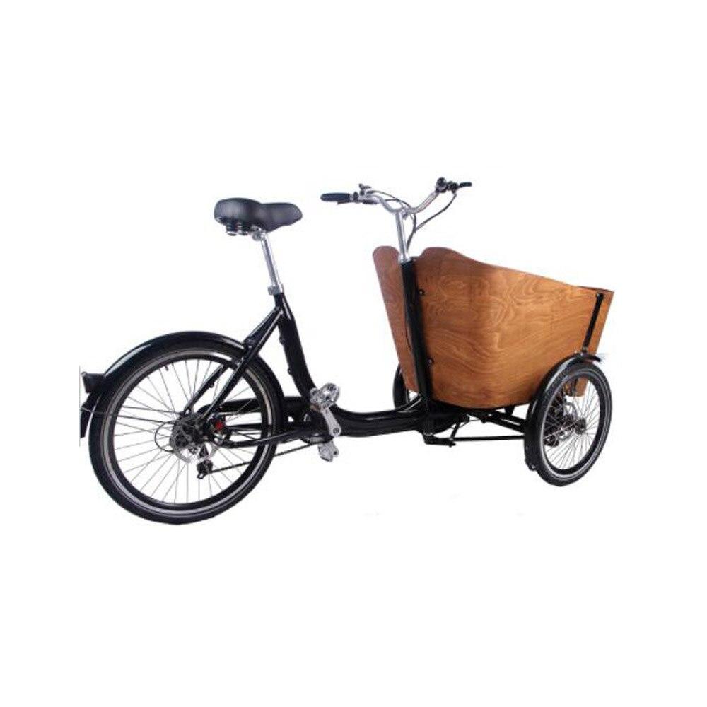 نمط جديد ركوب الدراجة الأطفال الكبار 3 عجلة دراجة كهربائية مع الطفل مقعد التسوق ثلاثية العجلات الخضار البضائع الدراجة