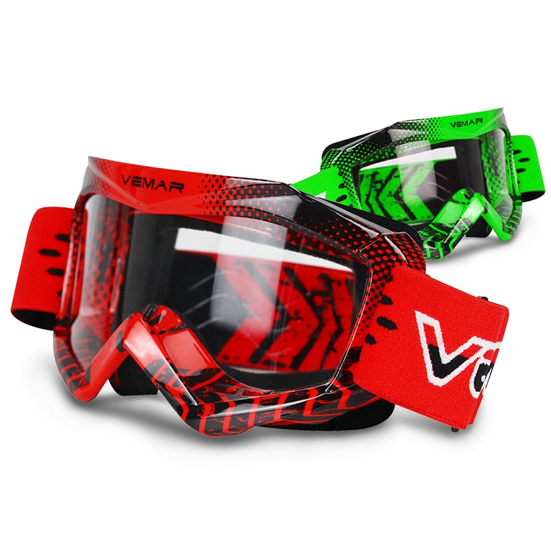 Vemar Kids Motorcycle Glasses Childen Motocross Racing goggles Child ATV MX Motorbike Dirt Bike Ski Goggles Moto Helmet Glasses