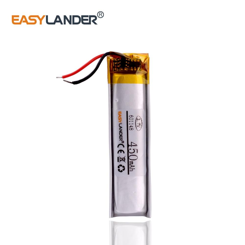601148 601250 3.7 v 450 mah acumuladores na bateria recarregável rat9 do rato as baterias para o rato r. A. t. 9 substituir