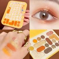maffick eyeshadow palette colorful shadows pallet glitter highlighter shimmer make up pigment matte eye shadow pallete