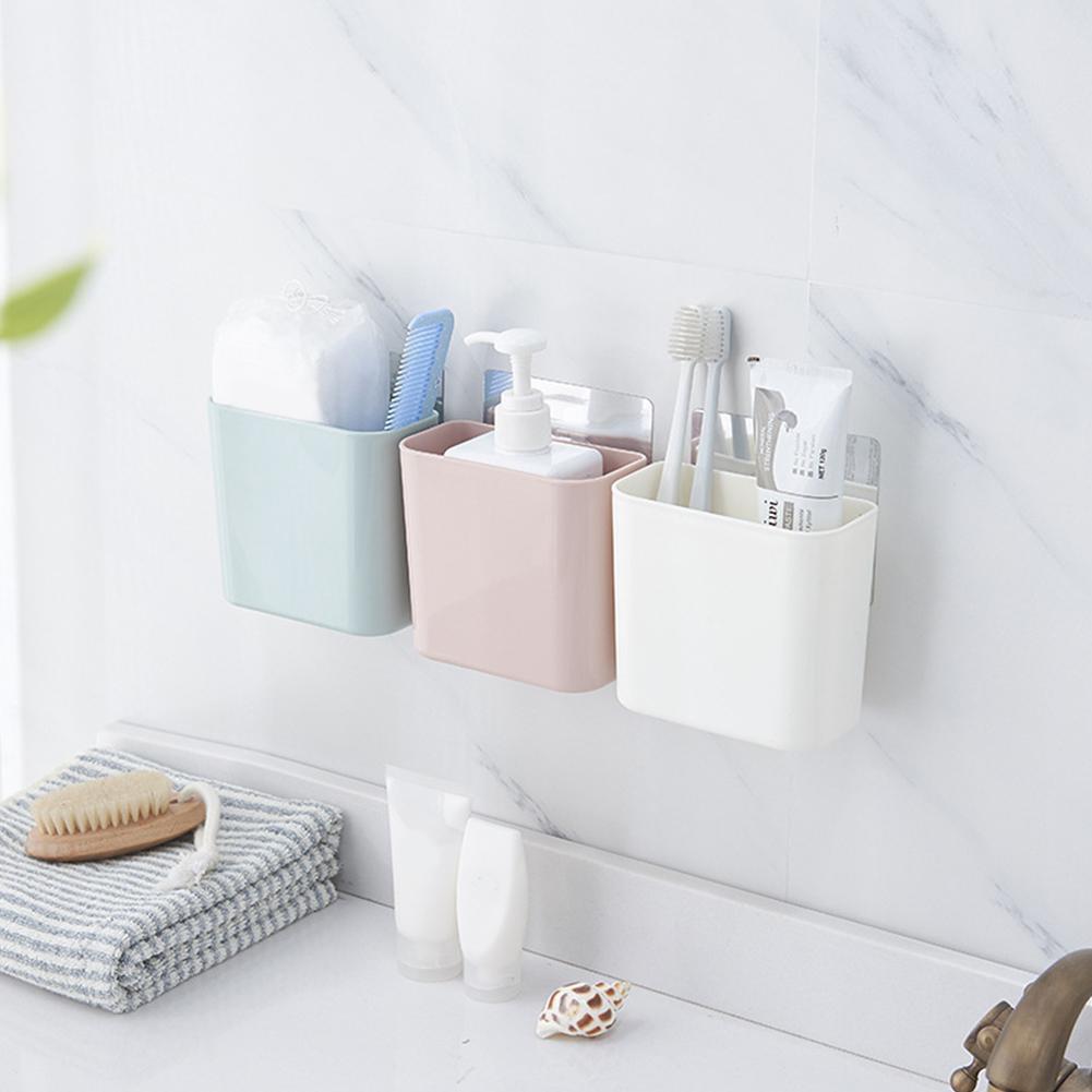 Зубная щётка полка Ванная комната всасывания настенный расческа Зубная щётка для хранения держатель Ванная комната аксессуары
