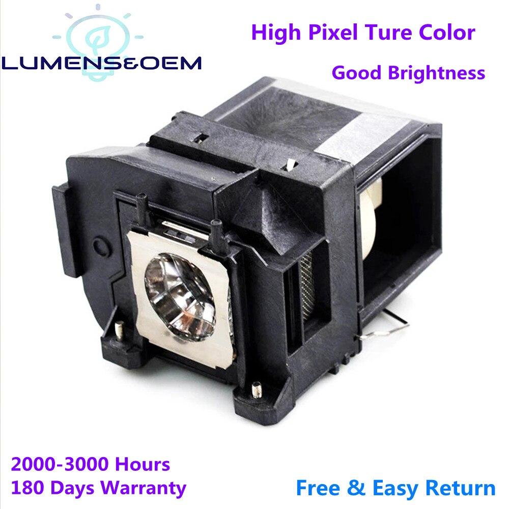 Люмен & OEM заменяемая прожекторная лампа ELPLP85 / V13H010L85 для EH-TW6800 EH-TW6600W EH-TW6700 EH-TW6700W лампы для проектора