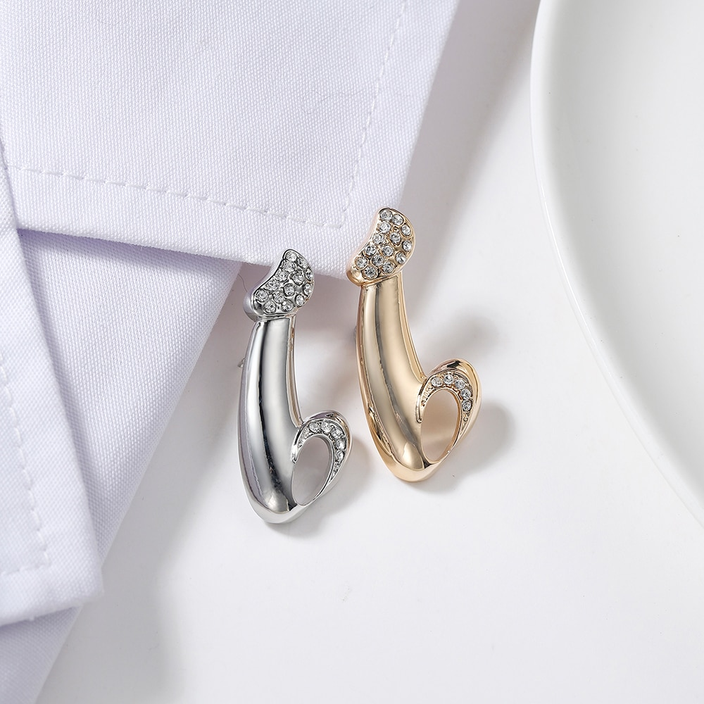 Personalidade criativa masculino genitals broche liga de zinco pino jóias médico enfermeira medicina ouro broche lapela denim distintivo presente