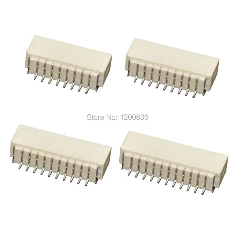 Mini Micro SH 1,0 JST conector ST conector SMD Terminal hembra SH 1,0mm SH 2 3 4 6 10-Pin conector macho
