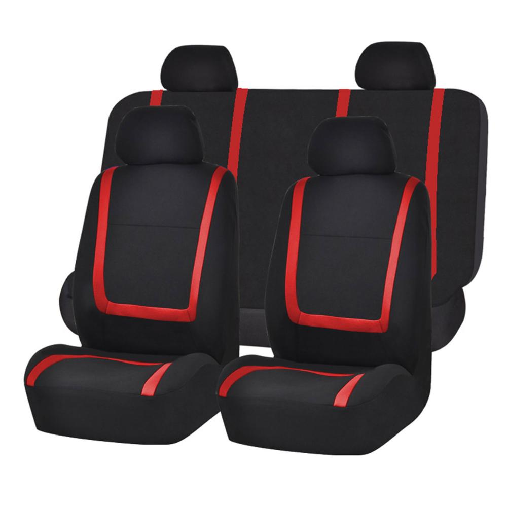 Car Seat Cover Cloth Car protection seat cover Autos Universal Car Seat Cover Car interior Accessories  - buy with discount
