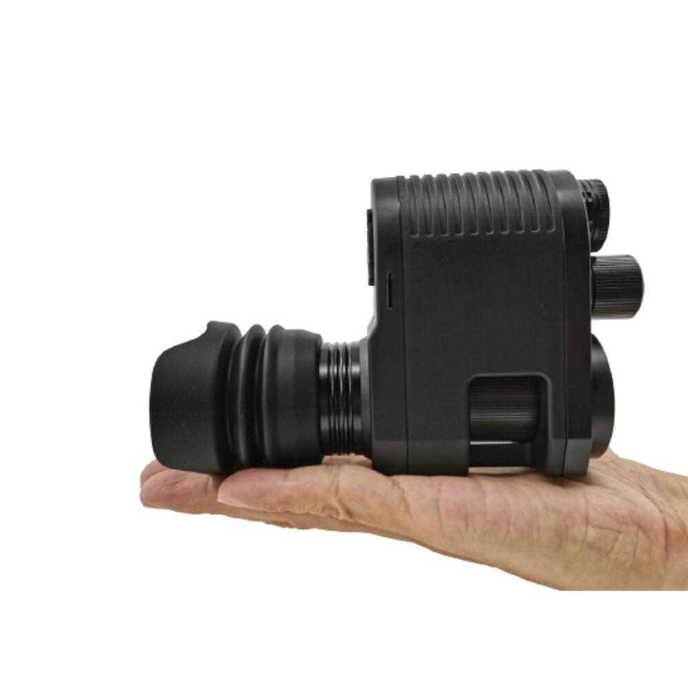 Megaorei 3 720P للرؤية الليلية بندقية نطاق تسجيل الفيديو الصيد البصريات البصر كاميرا مع المدمج في 850nm الليزر IR مصباح يدوي