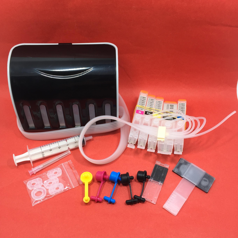 YOTAT cor 5 PGI-550 CLI-551 CISS cartucho de tinta para impressora Canon PIXMA IP7250 MG6350 MG5450 MX925 MG7150 MG6450 MG5550