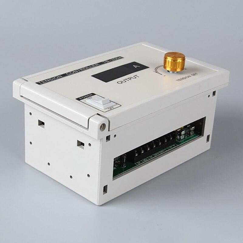 Speed Controller 220 Digital Manual Tension Controller 185V-265VAC 220V 24V DC Output 0- 3A Magnetic Powder Brake Clutch PLC недорого