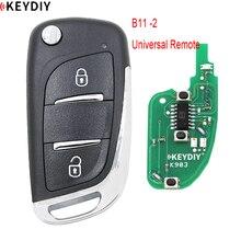KEYDIY-télécommande universelle 2B, 1 pièce, B11-2 pour KD900/KD900 +/URG200/KD-X2 programmateur de clé Style DS