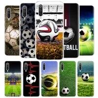 football soccer ball design cover phone case for xiaomi redmi note 9s 10 9 8 8t 7 6 5 6a 7a 8a 9a 9c s2 pro k20 k30 5a 4x coque