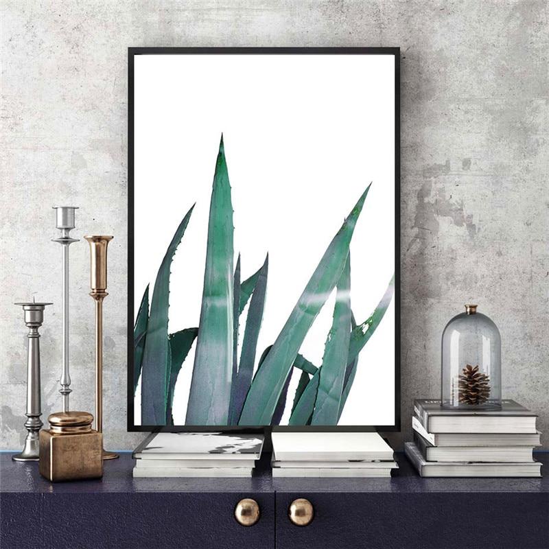 VOGVIGO pintura al óleo Agave, carteles artísticos de pared, impresiones en lienzo, cuadros para la decoración del hogar de la sala de estar y el dormitorio