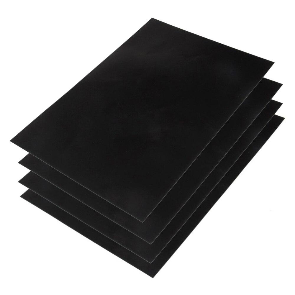 4 шт. 20x30 см A4 Съемная меловая доска Настенная Наклейка меловая доска бумага