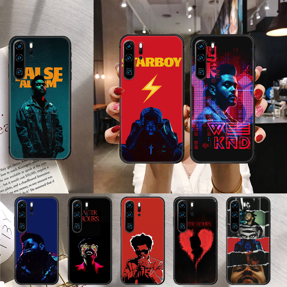 The Weeknd After Hours Phone Case Cover For Huawei Mate P 10 20 30 40 Lite Pro Smart Z 2019 Black Ho
