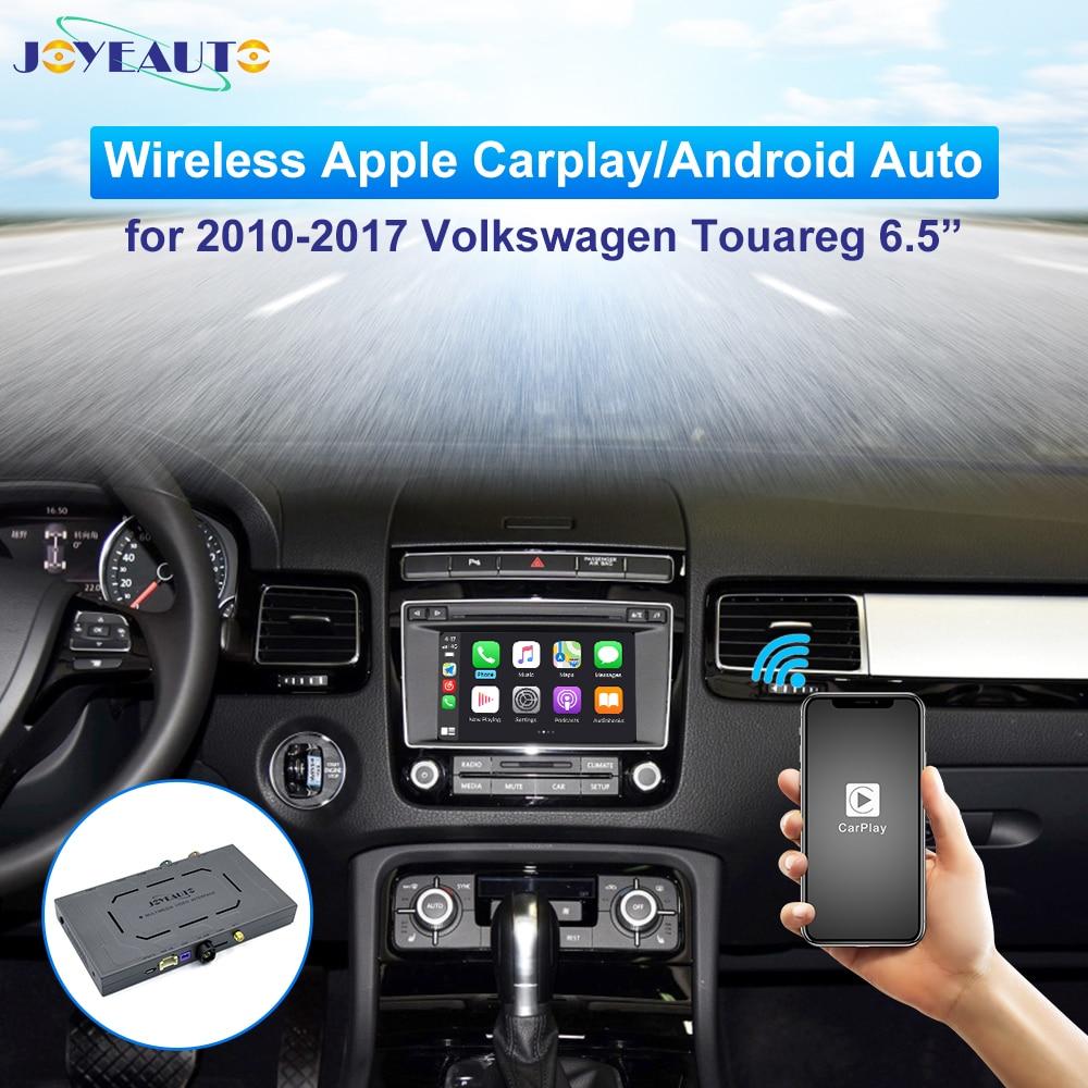 JoyeAuto Carplay inalámbrico para Volkswagen VW Toureg 6,5 pulgadas 2010-2017 Android Auto Apple Carplay TV radio módulo de Navegación