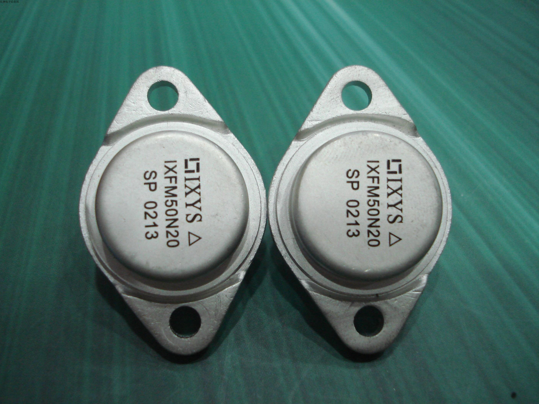 2Pcs IXFM50N20 TO-3 50A 200V Power MOSFET original free shipping