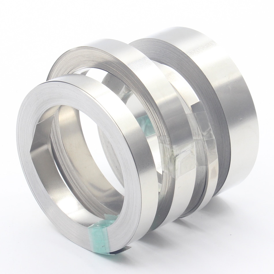 0,2 мм x 8 мм 99.96% никель-никелевая лента для аккумулятора литий-ионная пластина Ni 10 метров для 18650 литиевых батарей точечная Сварка