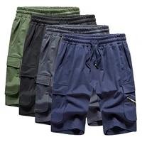 mens summer breeches shorts 2021 cotton casual bermudas black men boardshorts classic brand clothing beach shorts male